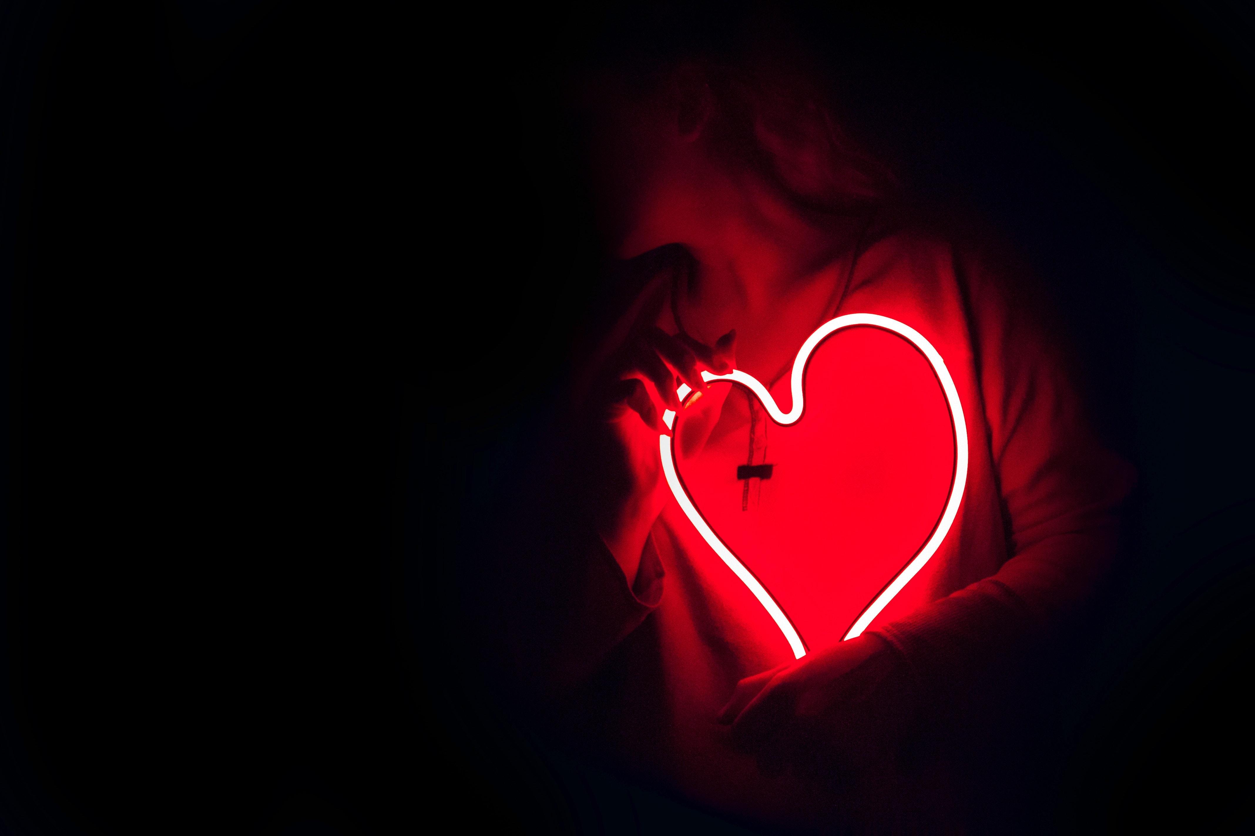 Ảnh trái tim buồn hay