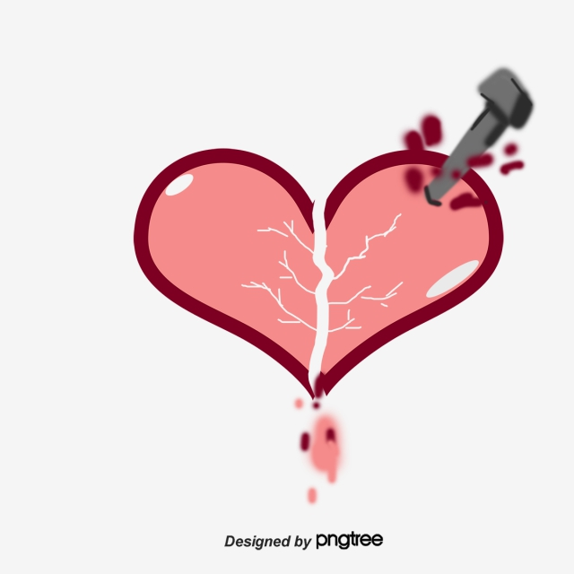 Ảnh trái tim buồn sáng tạo