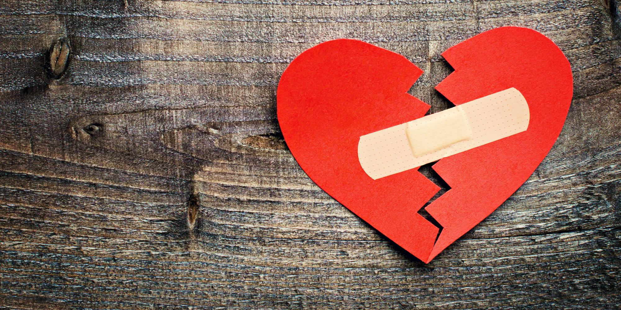 Ảnh trái tim tan vỡ đẹp