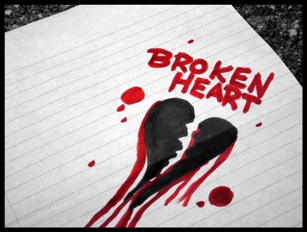 Ảnh trái tim tổn thương cực đẹp