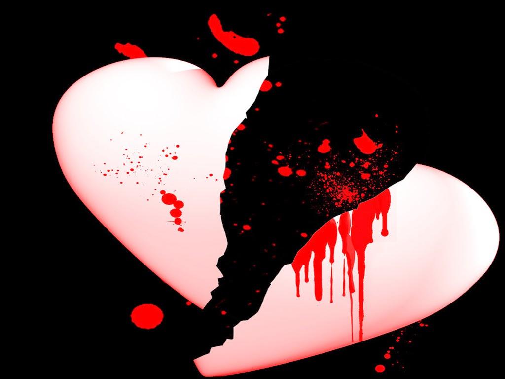 Ảnh trái tim vỡ tan nát