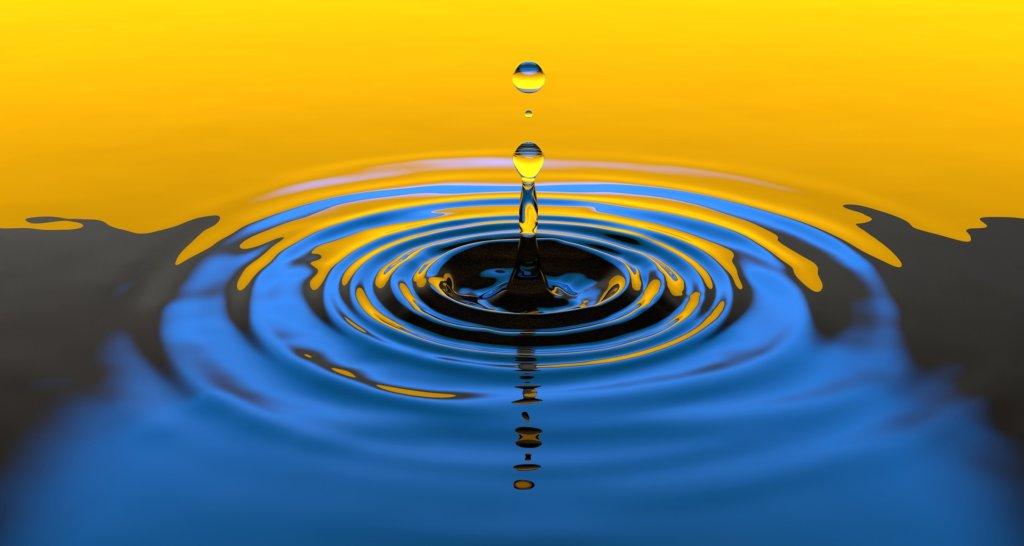Hình ảnh giọt nước chảy