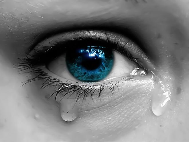 Hình ảnh nước mắt rơi
