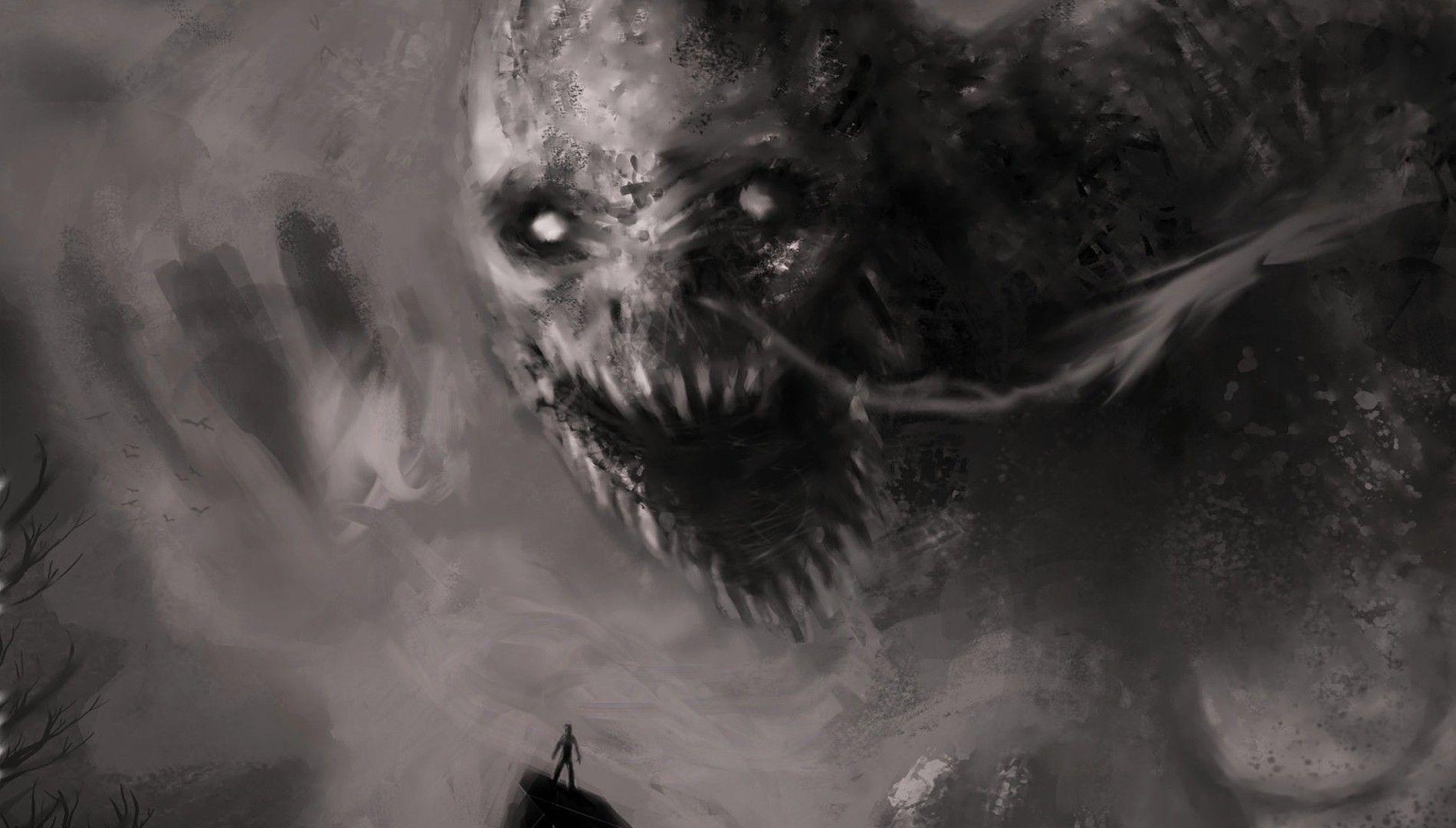 Hình nền ma quỷ kinh dị