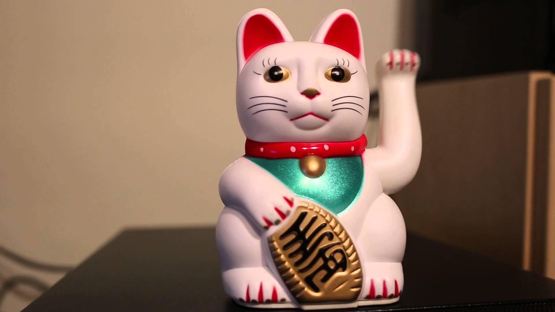 Hình nền mèo may mắn maneki neko