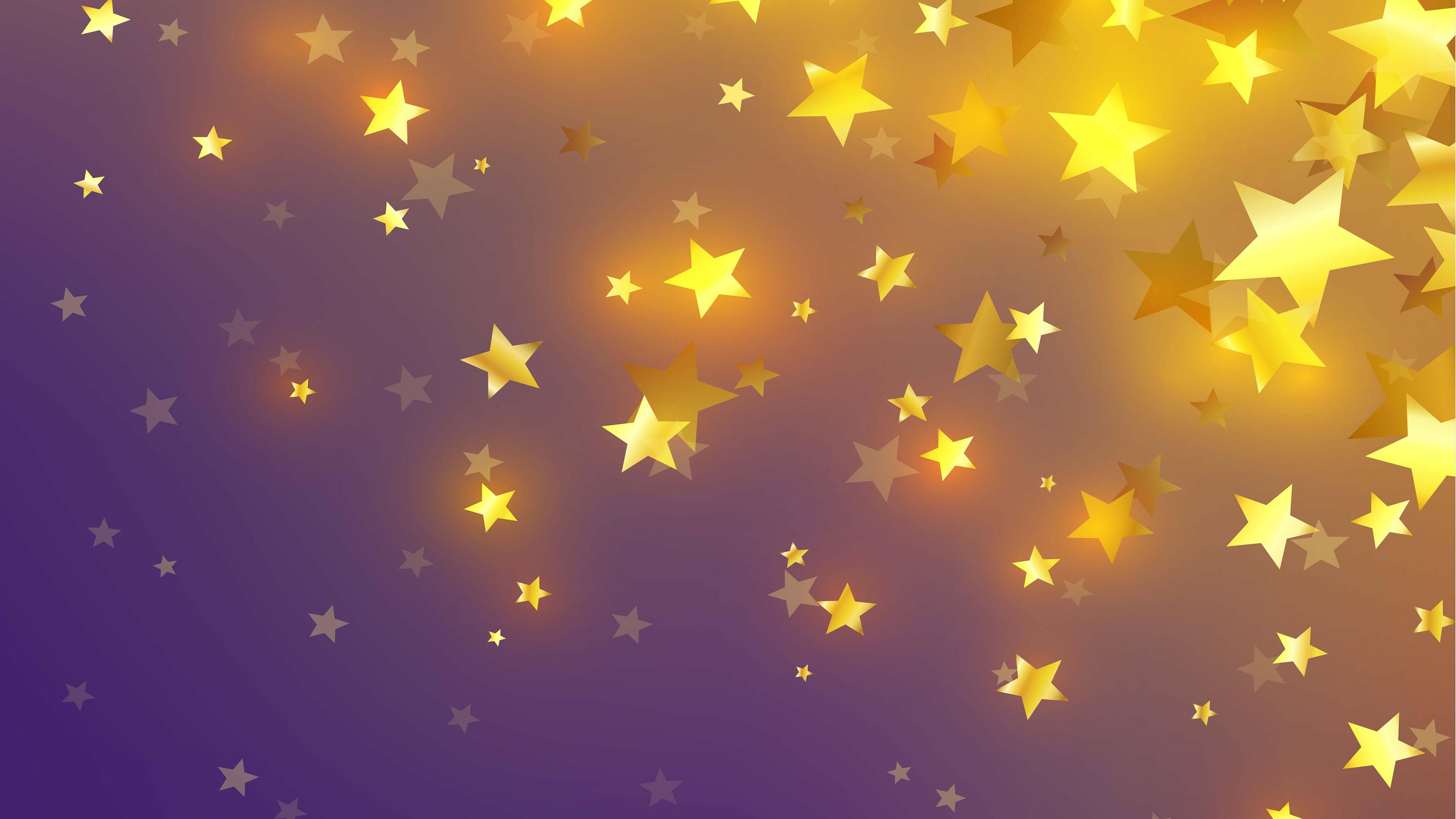 Hình nền ngôi sao may mắn 4K