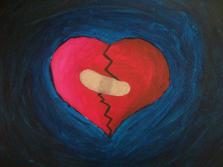 Hình trái tim bị vá