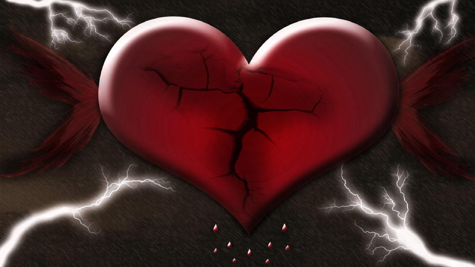 Hình trái tim tan vỡ đẹp