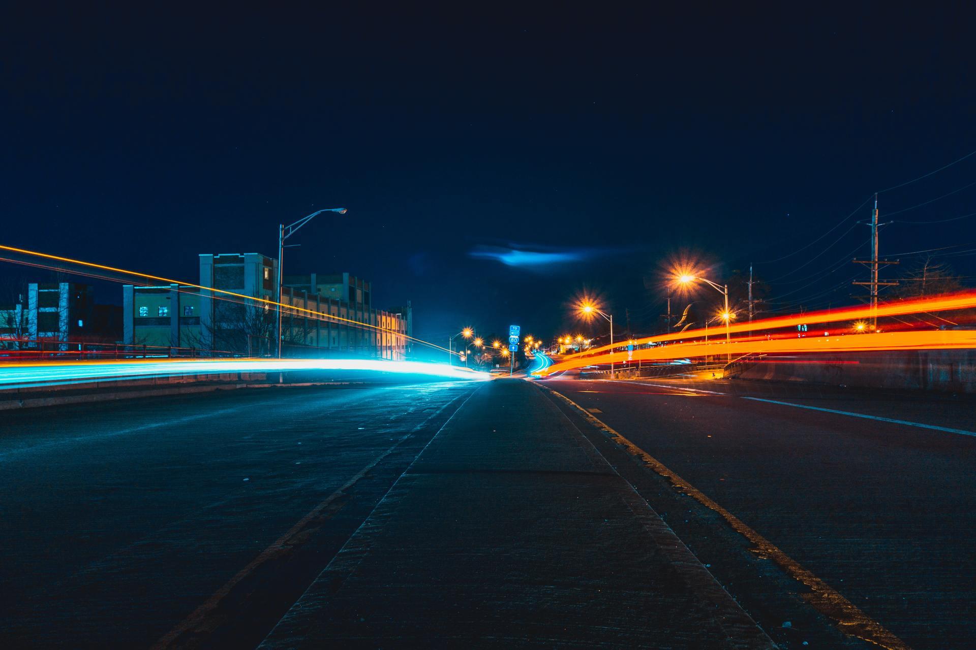Thành phố đèn lung linh đẹp
