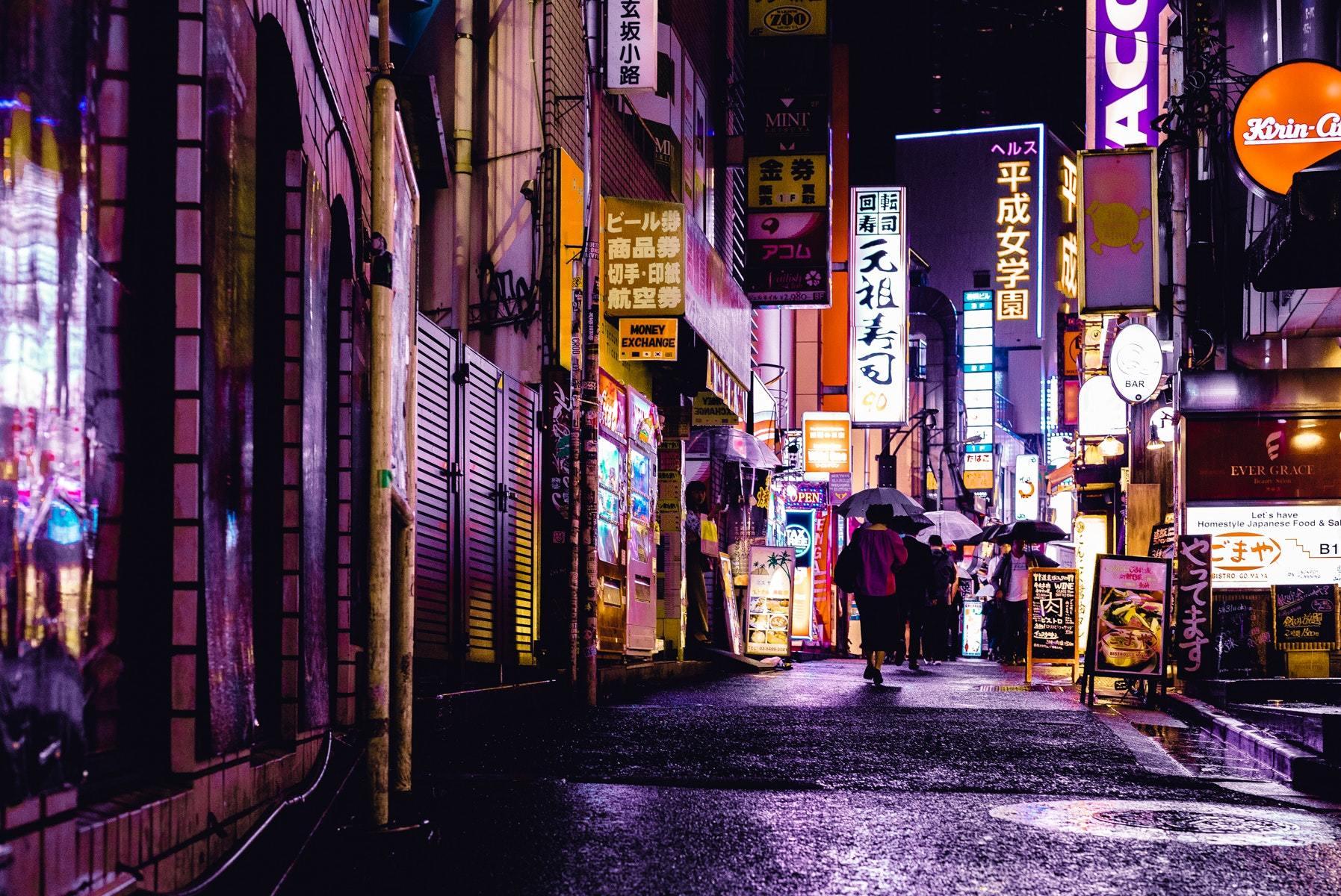 Thành phố Hong Kong về đêm
