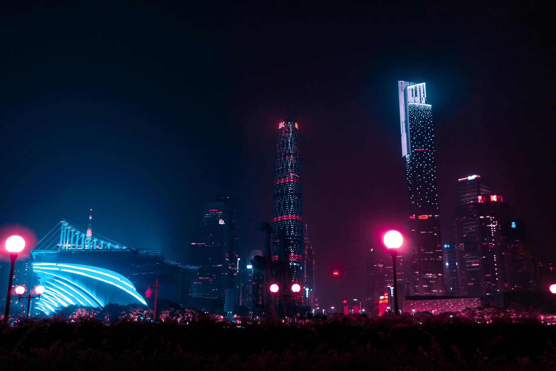 Thành phố lung linh về đêm cực đẹp