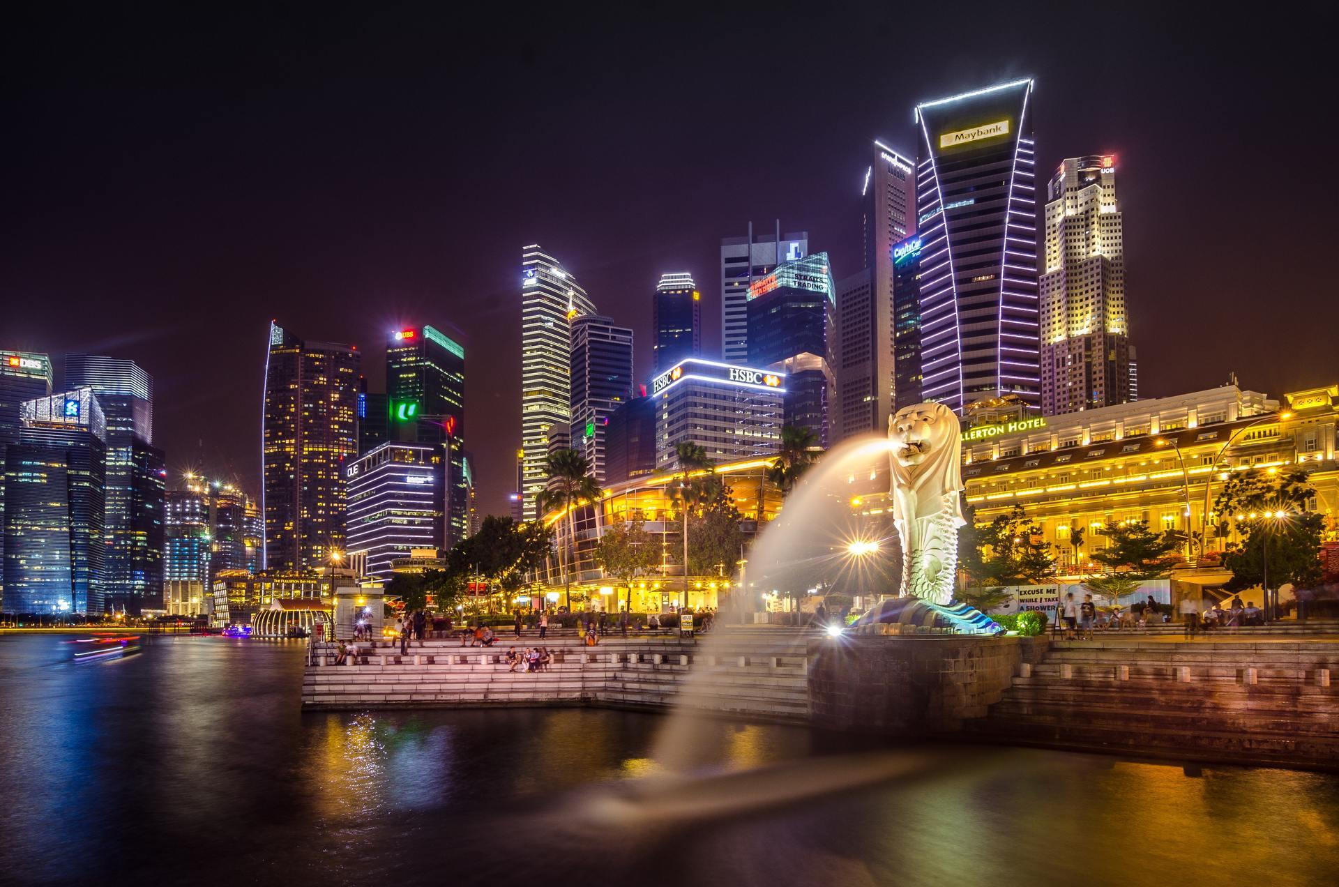 Thành phố Singapor lung linh