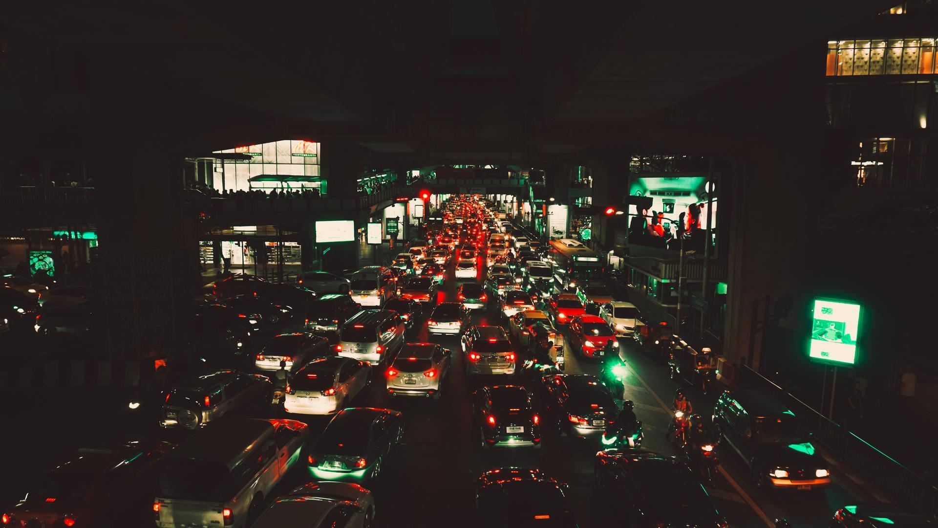 Thành phố về đêm buồn