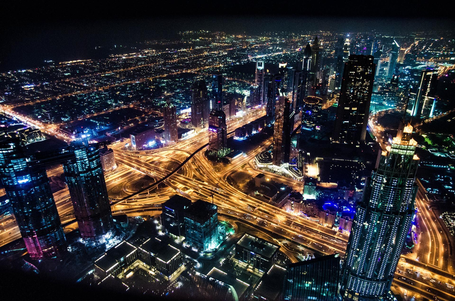 Thành phố về đêm đẹp nhất