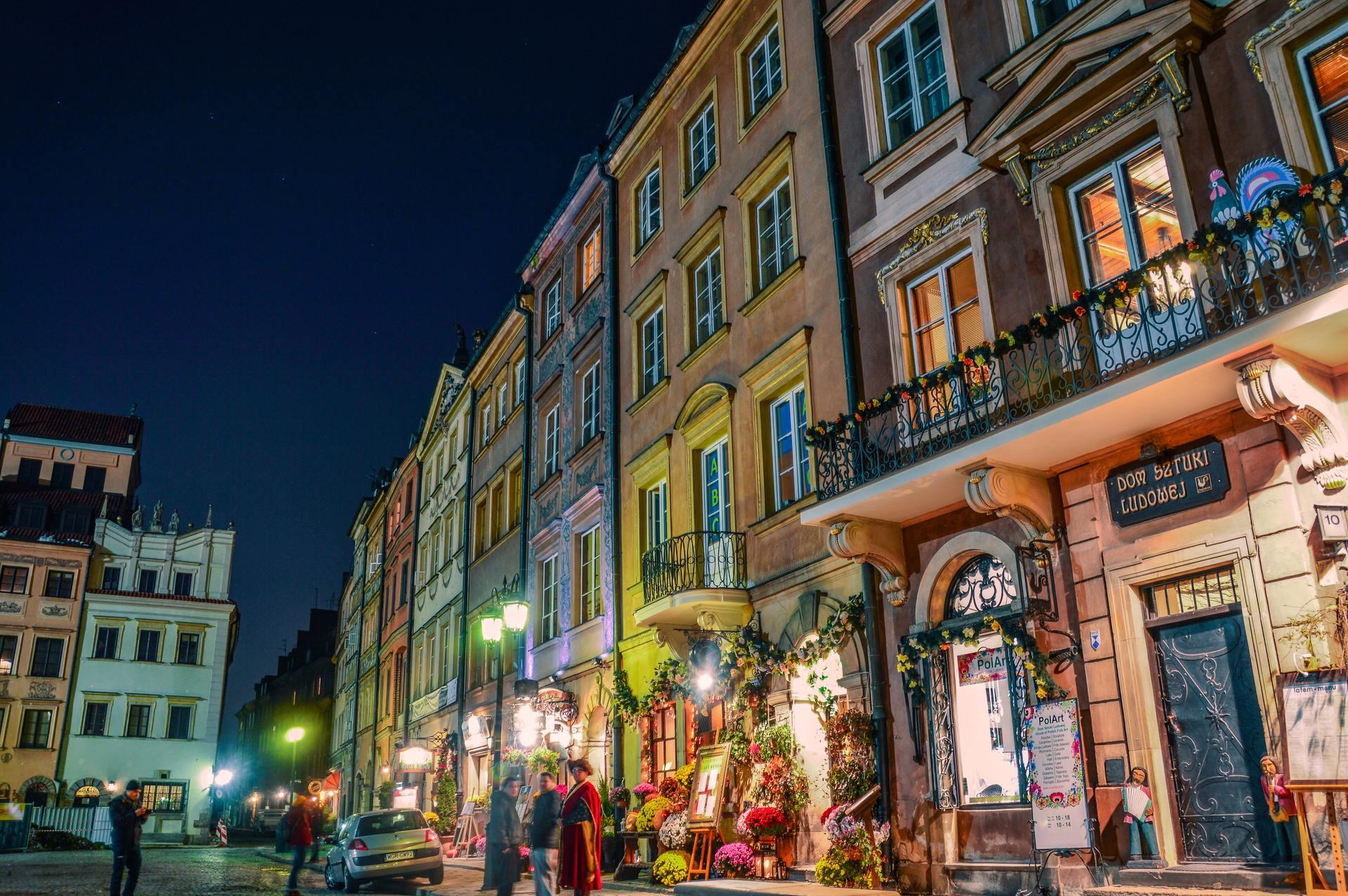 Thành phố về đêm đẹp