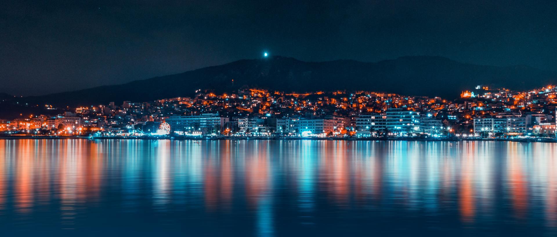 Thành phố về đêm tuyệt đẹp
