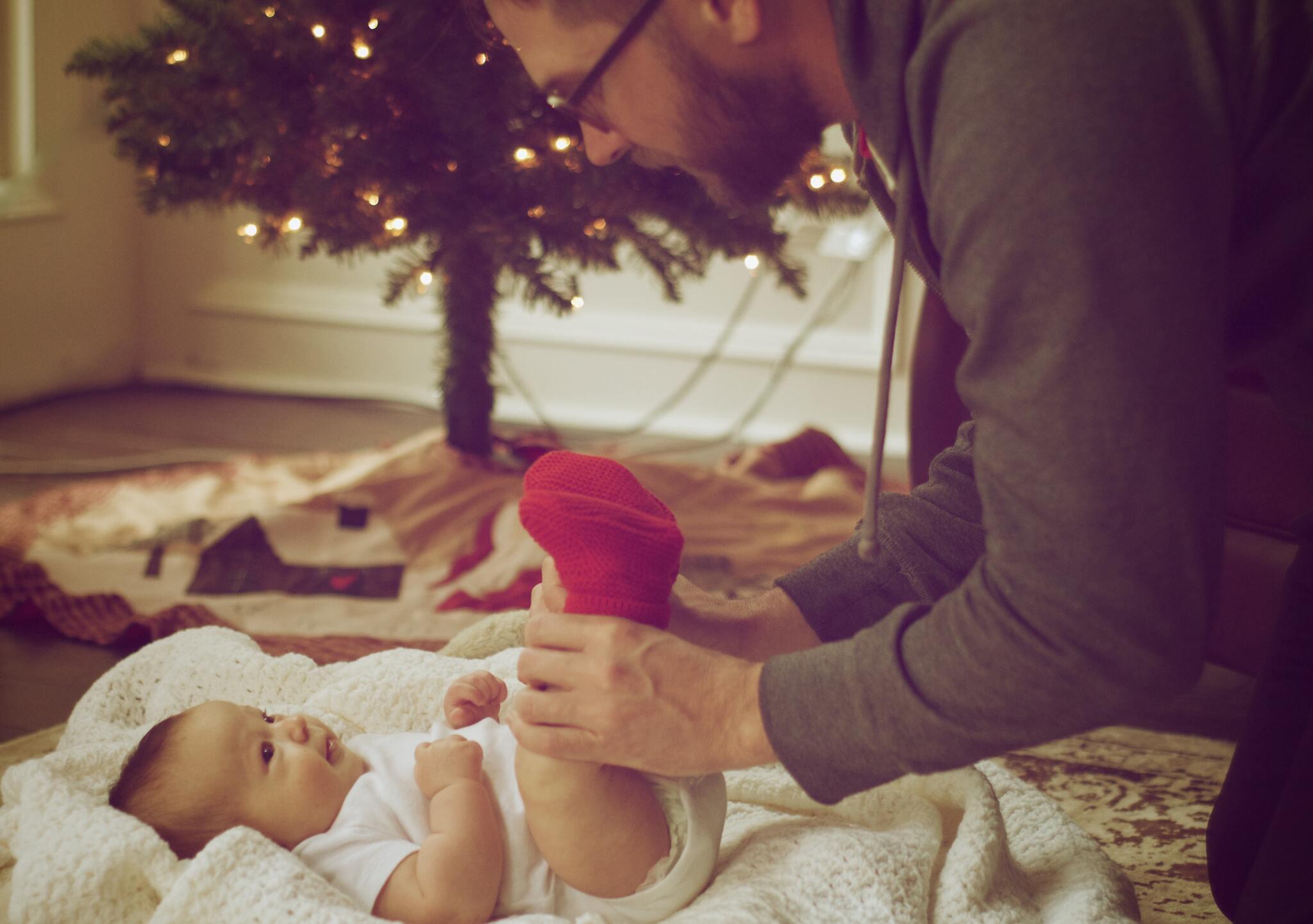 Hình ảnh cha con cực ý nghĩa