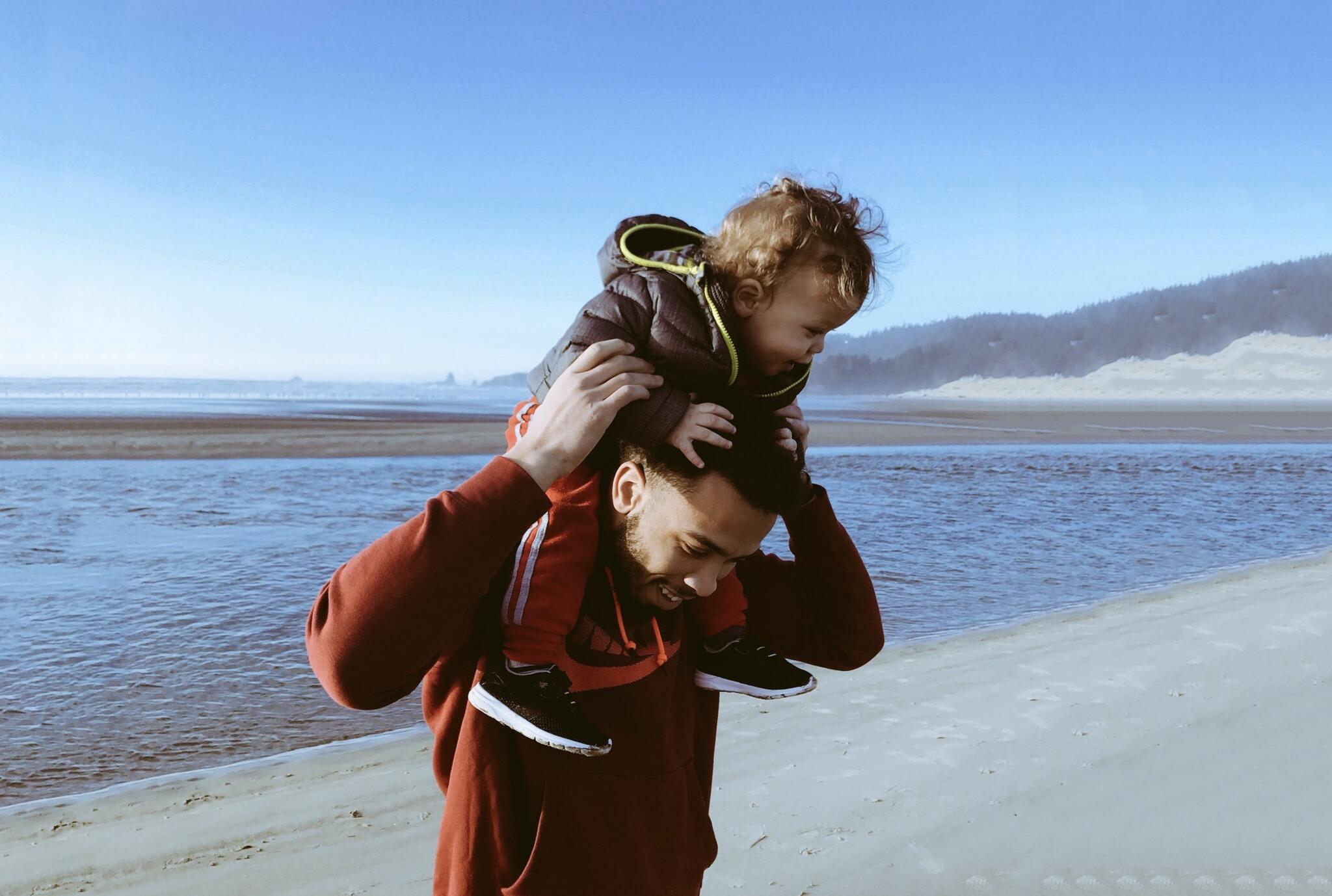 Hình ảnh cha và con cực đẹp