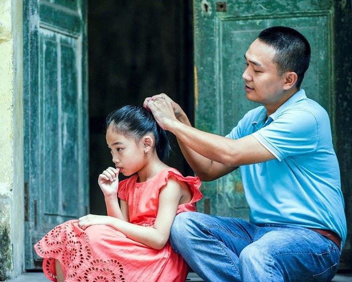 Hình ảnh người cha Việt Nam