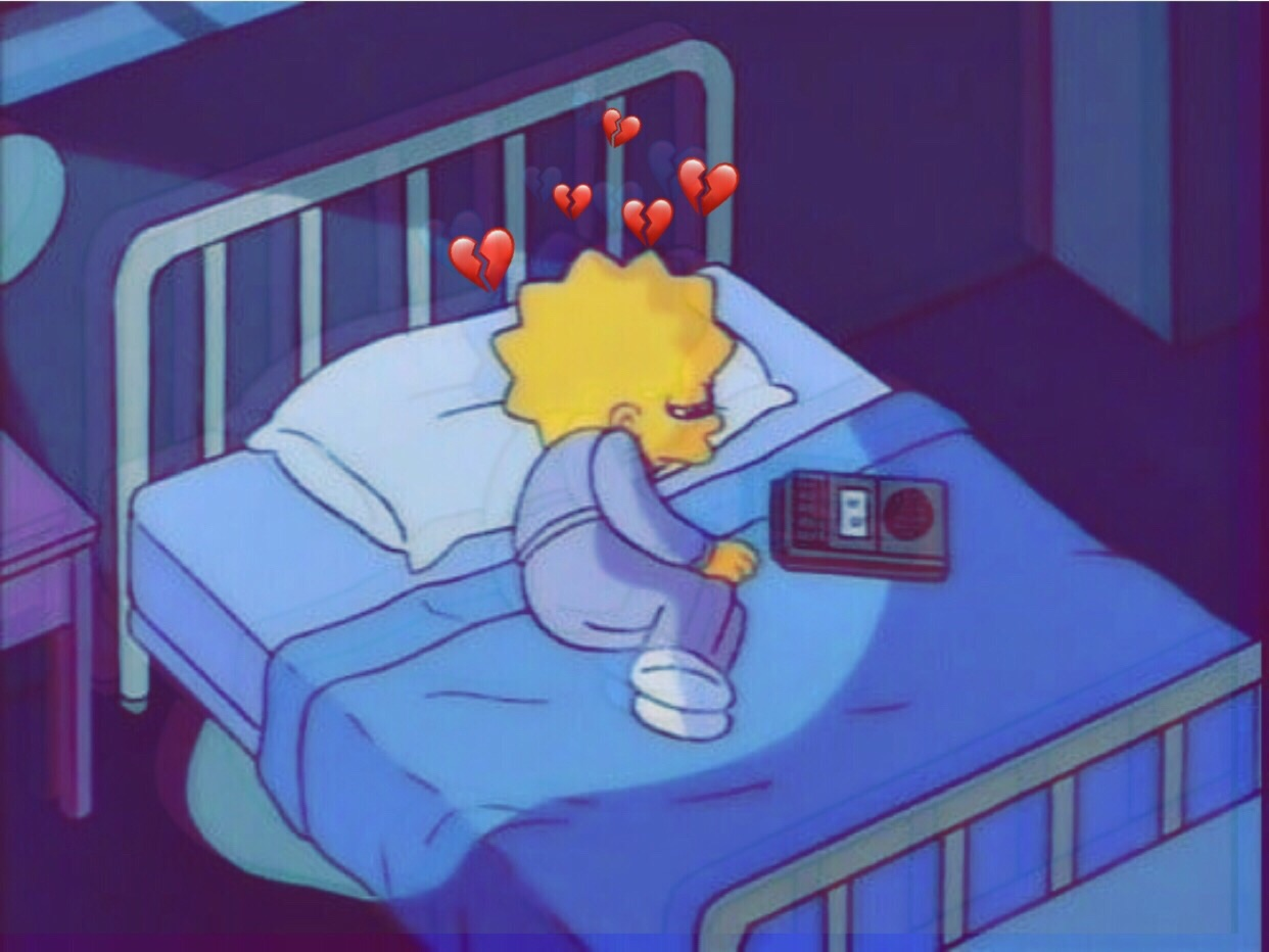 Hình ảnh Simpson buồn