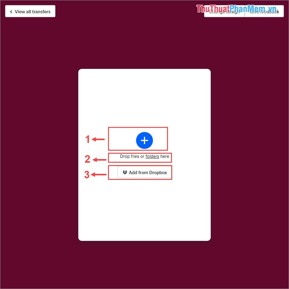 3 lựa chọn mở tài liệu cần chia sẻ