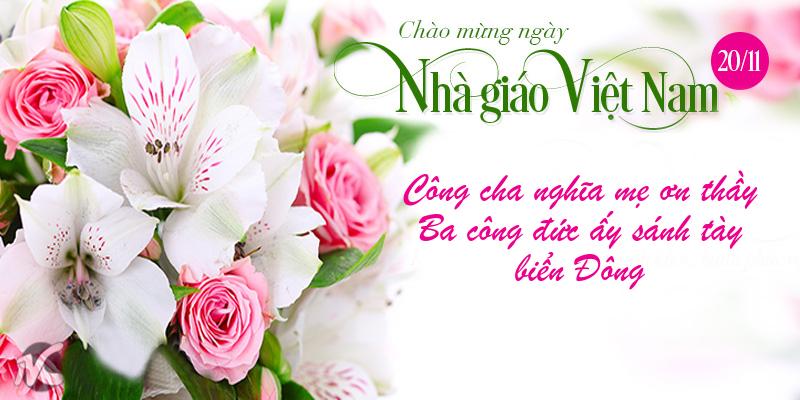 Ảnh chúc mừng ngày nhà giáo Việt Nam đẹp nhất