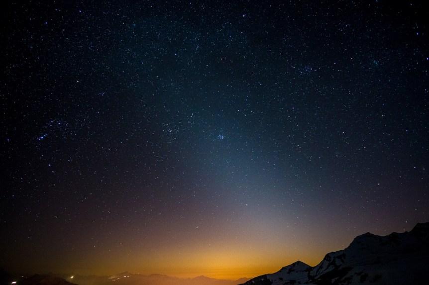 Ảnh chụp bầu trời đêm đẹp