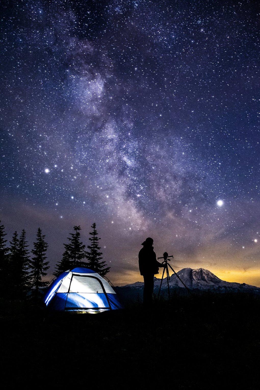 Ảnh chụp bầu trời đêm