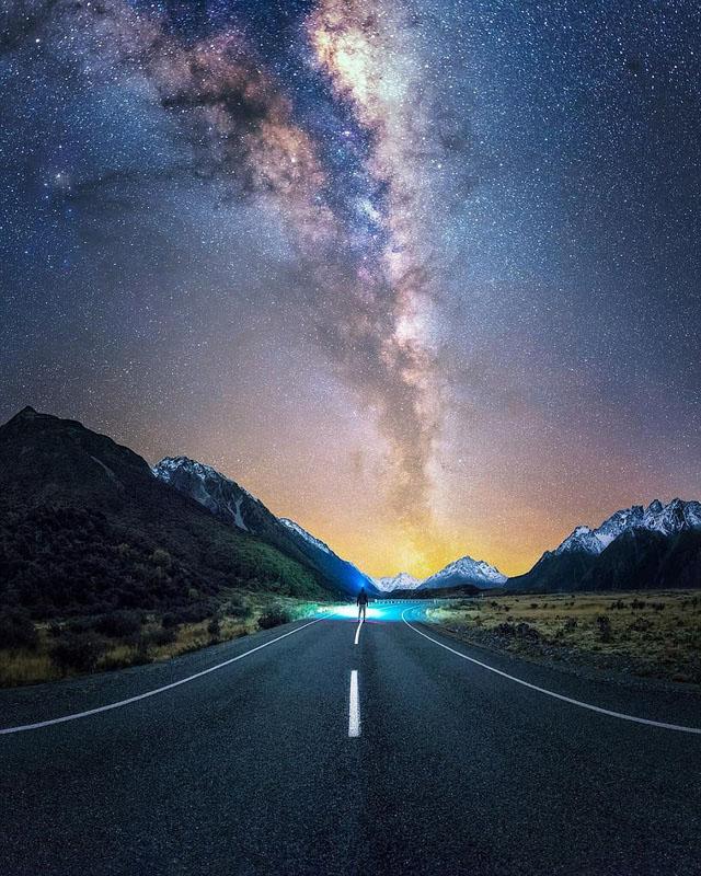 Ảnh đẹp bầu trời về đêm