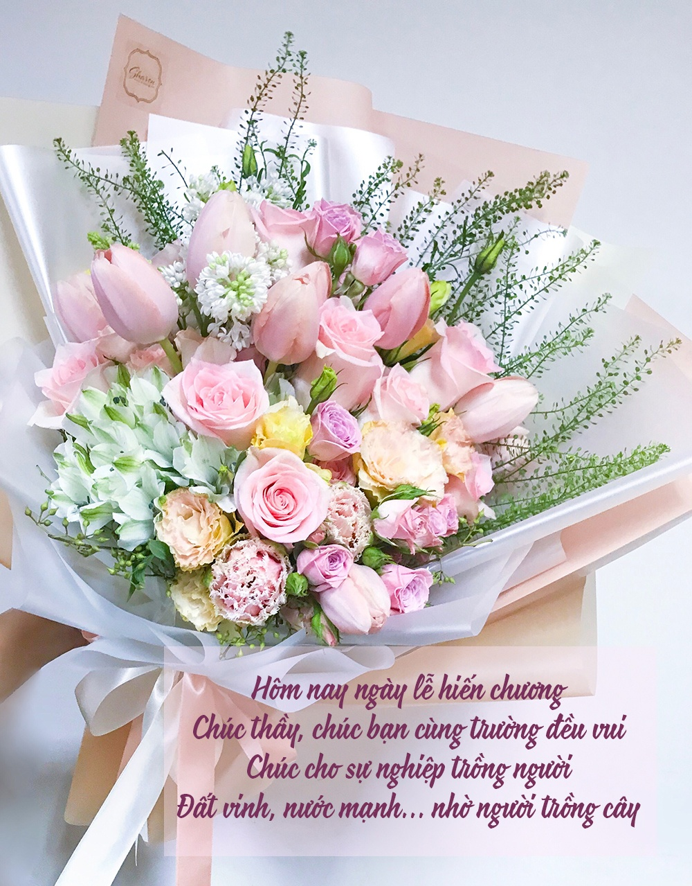 Ảnh mừng ngày nhà giáo Việt Nam ý nghĩa nhất