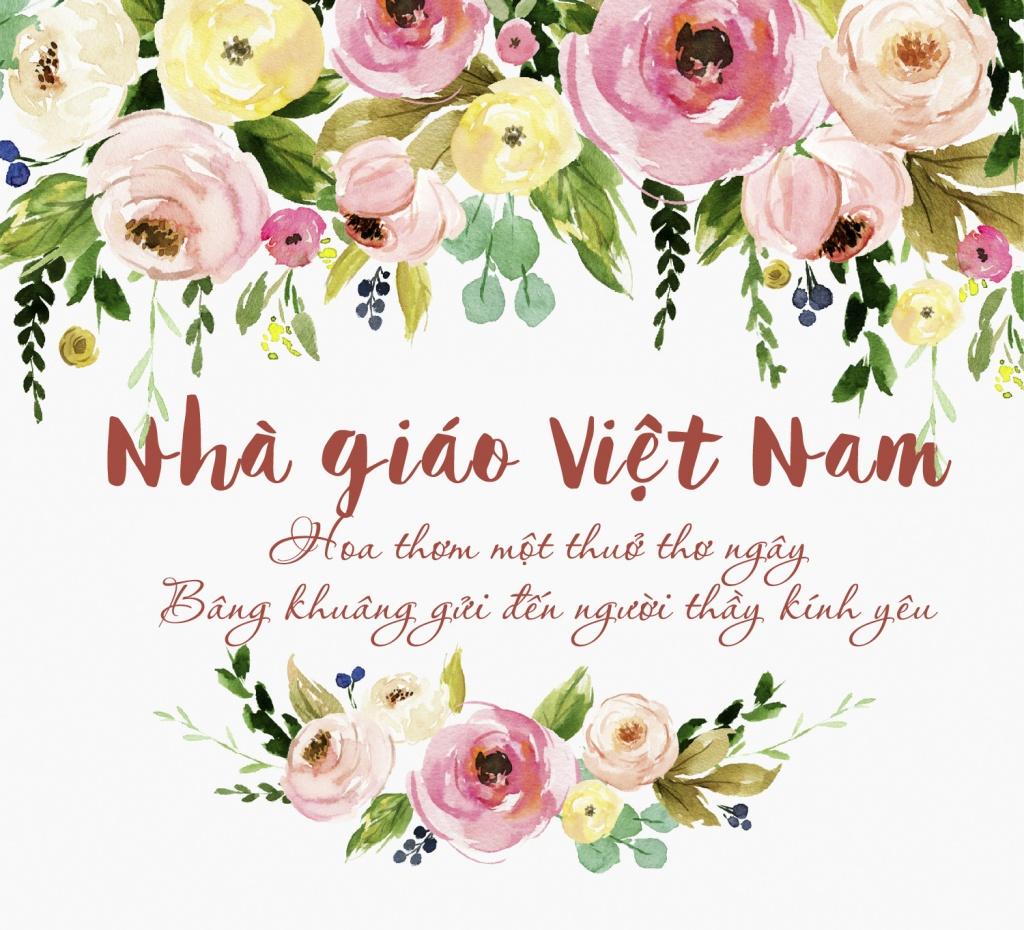 Ảnh ngày nhà giáo Việt Nam ý nghĩa