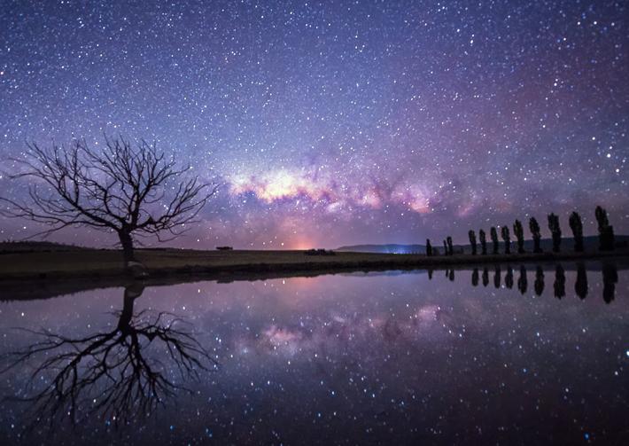 Ảnh phong cảnh bầu trời đêm