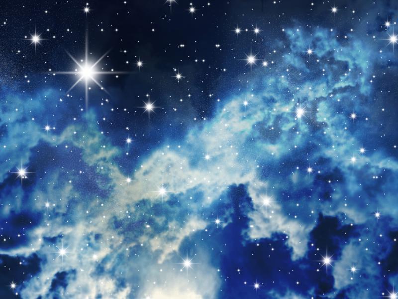 Hình ảnh 3D bầu trời đêm