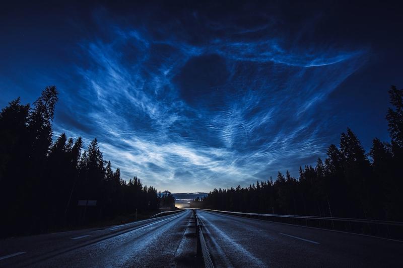 Hình ảnh bầu trời chụp ban đêm