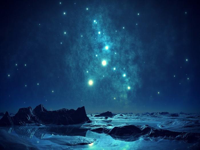 Hình ảnh bầu trời đêm đầy sao