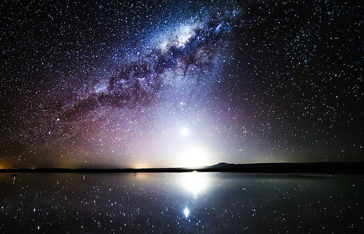 Hình ảnh bầu trời đêm kì vĩ
