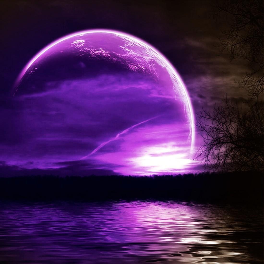 Hình ảnh bầu trời đêm tối