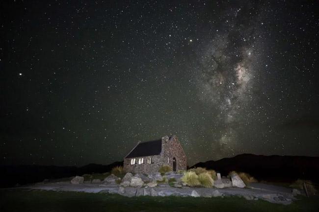 Hình ảnh bầu trời về đêm đẹp
