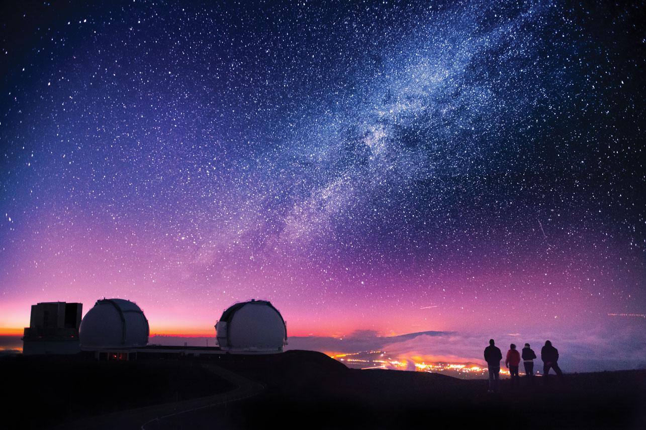Hình ảnh bầu trời về đêm