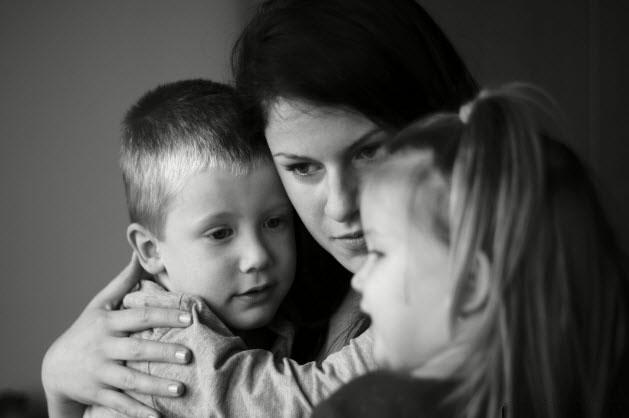Hình ảnh buồn cuộc sống gia đình ly thân