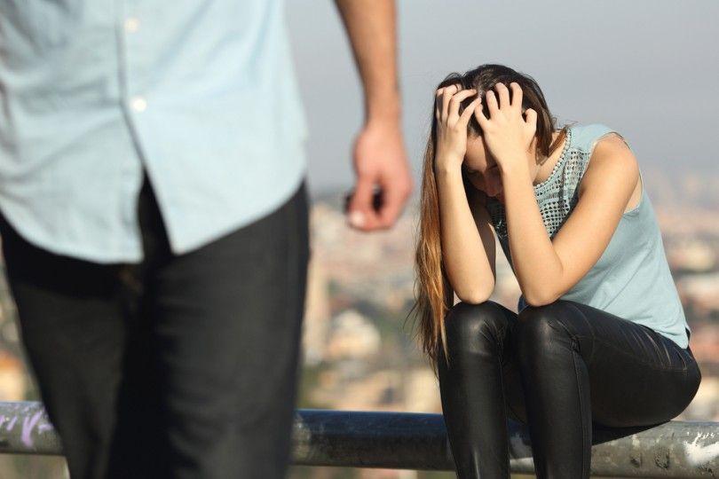 Hình ảnh buồn sau khi chia tay
