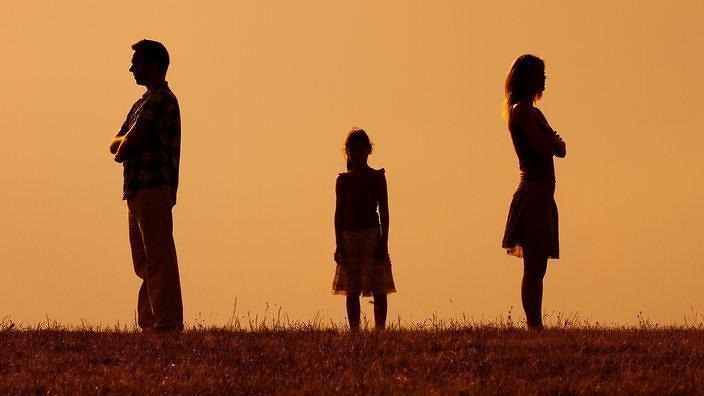 Hình ảnh buồn về gia đình