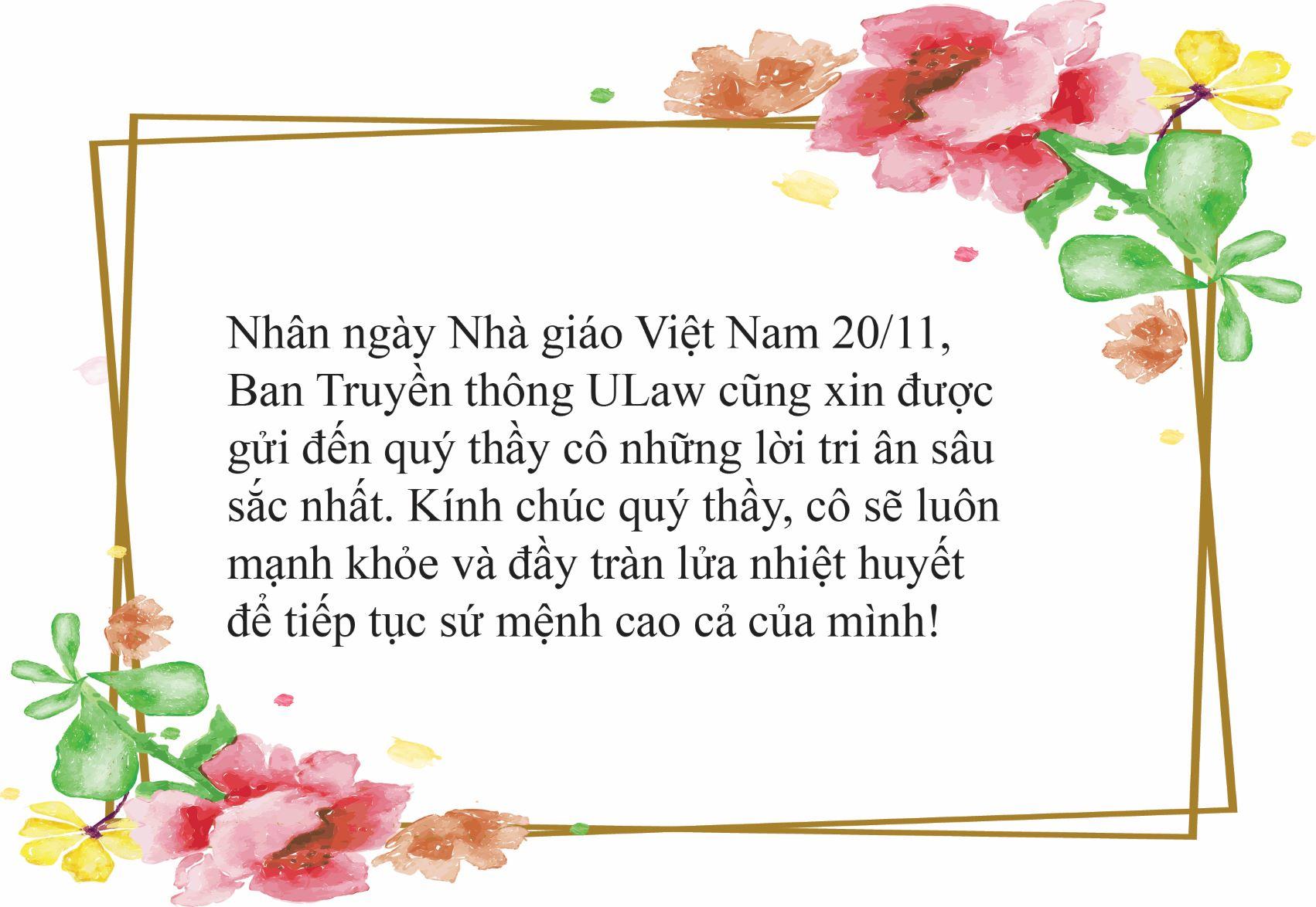 Hình ảnh chúc mừng ngày nhà giáo Việt Nam ý nghĩa