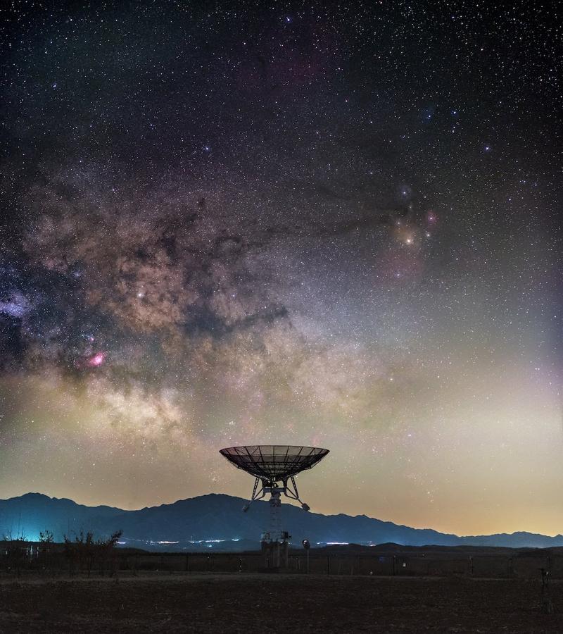 Hình ảnh chụp bầu trời về đêm