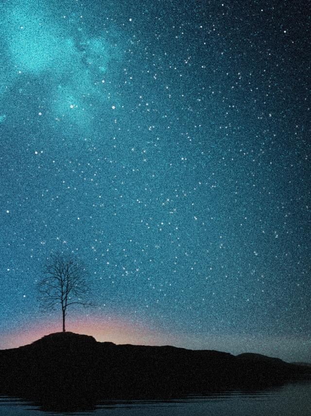 Hình ảnh nền bầu trời đêm cho điện thoại