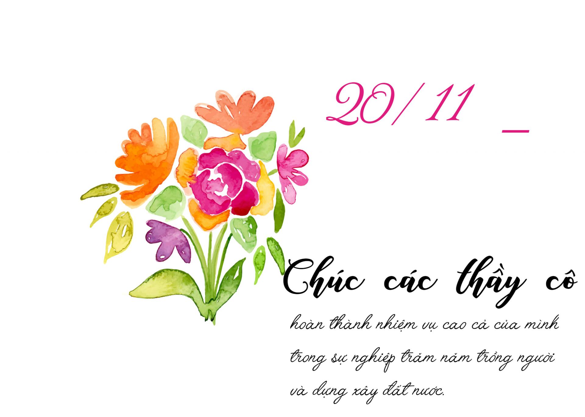 Hình ảnh ngày nhà giáo Việt Nam 20-11 hay nhất