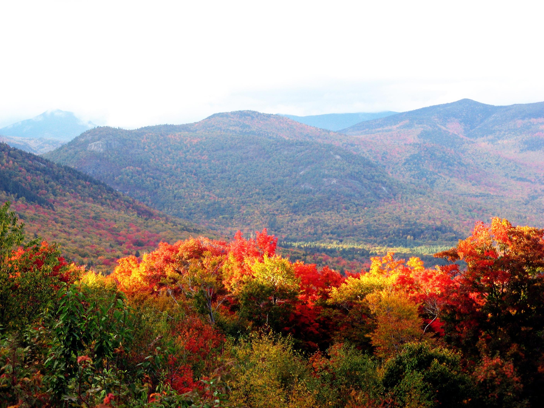 Mùa thu về trên vùng đồng núi