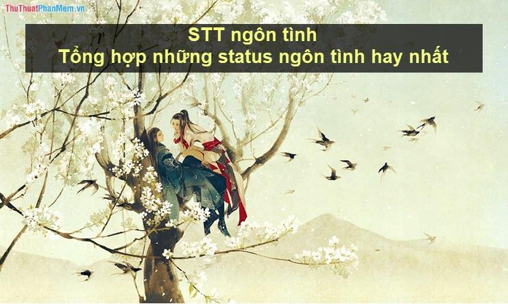 STT ngôn tình - Tổng hợp những status ngôn tình hay nhất