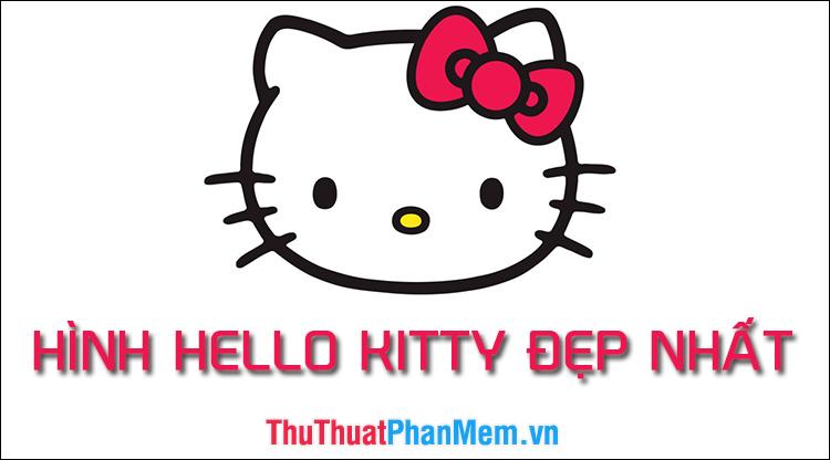 Hình ảnh Hello Kitty đẹp nhất