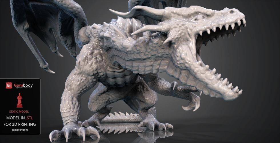 Ảnh Model rồng 3D cực đẹp
